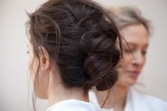 Soft, simple updo