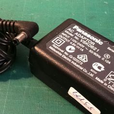 AC adaptador PANASONIC 110/240V 50/60hz 0.12A 4.8V 1A