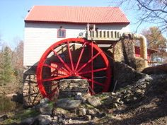The Old Mill of Guilford NC. A fully operational, water-powered, 18th century grist mill    They sell flours of all kinds  mixes.  The Cranberry Orange Scone Mix  is amazing!