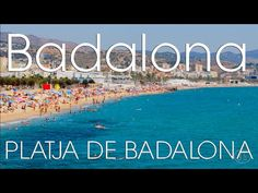 Barcelona - Badalona Beach Day Trip (w/Stabilised GoPro Hero 4 Silver, i...