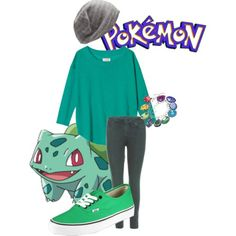 Bulbasaur Costume Idea.