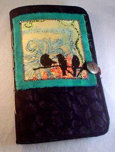 A handmade journal.