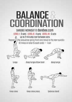 Balance And Coordination Workout Parkour Workout, Mma Workout, Gym Workout Tips, Workout Challenge, At Home Workouts, Post Workout Stretches, Workout Board, Workout Belt, Kickboxing Workout