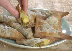 SAMOSA - Små, sprøde snacks med hakket oksekød og kartofler