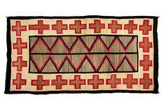 "Antique Navajo Rug, 7' x 3'8"" on OneKingsLane.com"