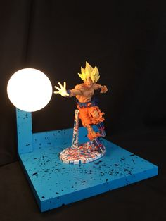 CUSTOM GOKU DRAGONBALL Z LAMP   Mercari: BUY U0026 SELL THINGS YOU LOVE