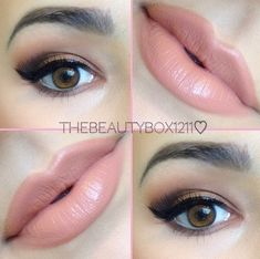 Sultry Wow pretty combo! I love nude lip color and this pretty smokey eye