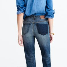 Cruiser Straight Jeans: Shadow-Pocket Edition :   | Madewell