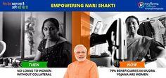 79% beneficiaries in Mudra Yojana are Women. #TransformingIndia #EmpoweringNariShakti #HarsimratKaurBadal #ShiromaniAkaliDal