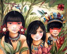 Children amazon river inspired by claudiatremblay on Etsy