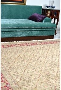 Wool Decorative Recreations,The Carpet Cellar,Indo Feet X Feet Rugs On Carpet, Carpets, 1 Feet, Pastel Colours, Cellar, Modern Contemporary, Family Room, Neutral, Couch