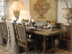 Pin by Lavender Hill Interiors on Elegantly Rustic Dining | Pinterest