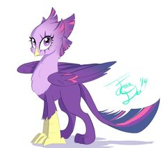 Twilight Griffon by FarewellDecency on deviantART