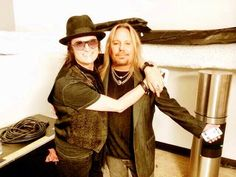 Me and longtime friend since 1981, Vince Neil in Las Vegas
