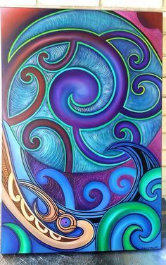 This is a nice composition integrating the circle Zentangle, Maori Symbols, Maori Patterns, Shetland, Maori People, Polynesian Art, Maori Designs, New Zealand Art, Nz Art