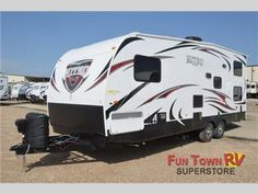 New 2014 Forest River RV XLR Nitro 24FQST Toy Hauler Travel Trailer at Fun Town RV | Cleburne, TX | #133167