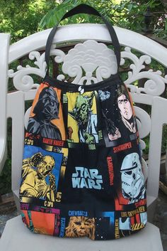 Star Wars Rectangle Slouch Bag by KraftyNerdSquad on Etsy