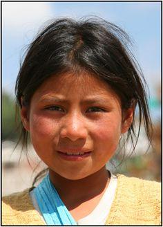 Mexican girl.
