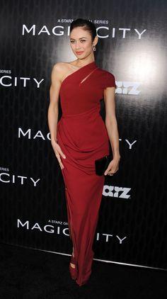 Olga Kurylenko: Olga Kurylenko wore Todd Lynn to the series premiere of Magic City.