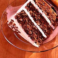 Zucchini Carrot Cake--must try as cupcakes before the end of the summer!