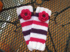 Custom Order CROCHET LEG WARMERS for child by MyKnitsEnd on Etsy, $20.00