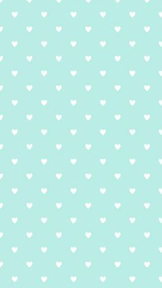 Blue Haven Wallpaper Mint Green Iphone Simple Heart White