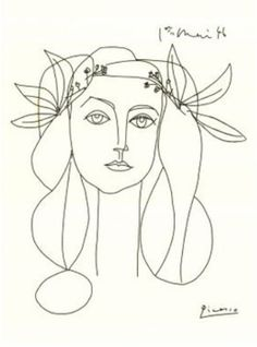 Picasso Sketch - I am in love with this!