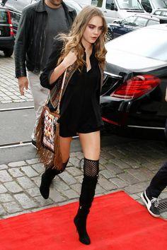Top looks. De zapatos masculinos, prendas denim y Kendall Jenner