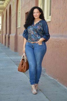 Толстая, но модная: как не быть теткой!!!