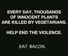 Funny #Bacon | Funny Eat Bacon Joke Picture | Funny Joke Pictures