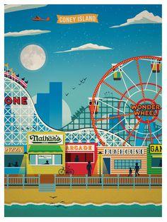 Vintage Coney Island | Idea Storm Media