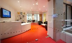 Reception, 0 - 10,000 sq. ft. 6 weeks, London W1, another design and fit out project by www.oktra.co.uk