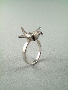 Paper cranes always make me think of The Bird Boy :)