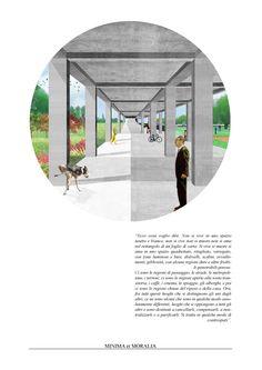 """""""minima et moralia"""" 012 - by Carlalberto Amadori  architecture collage on contemporary urban issue"""