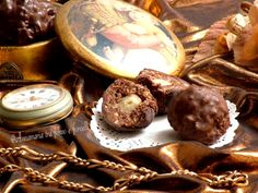 Cioccolatini+Rocher+fatti+in+casa