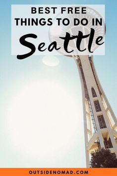 There are so many great FREE things to do in Seattle. Stay on budget and have a blast with these fun and unique places to see in Seattle. Free Travel, Budget Travel, Travel Usa, Cheap Travel, Travel Tips, Seattle Tourist Attractions, Seattle Winter, Vacations To Go, Free Museums