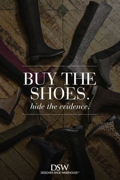 Indulge your inner shoe fanatic this National Shoe Lover Day; buy those boots you love… in every color.