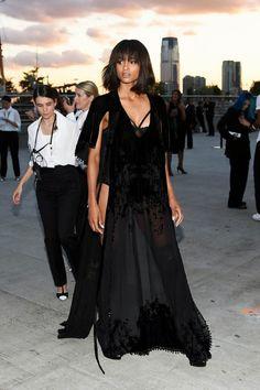 Celeb fashion looks at Givenchy NYFW
