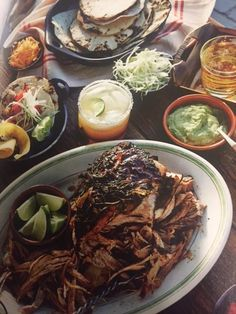 Chile-Braised Pork Shoulder with Taco Fixings | Foster's Market More