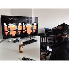 An awesome Virtual Reality pic! zzzzzzockn  #oculus #oculusrift #virtualreality #vr #goggles  #clubmate = #motionsickness #galacticweb #future #technology  #nonewfriends #nooldfriends #nerdistan by luka_licious check us out: http://bit.ly/1KyLetq