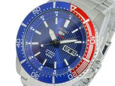 SEIKO Diver SRP551K1  Sport 100m Pepsi Bezel