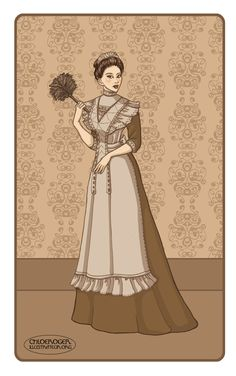 Victorian maid by ~LaTaupinette on deviantART