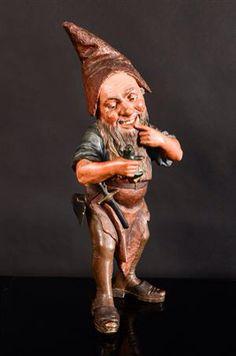 Antique Gnome 1800s