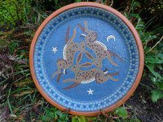 Three Hares Mosaic
