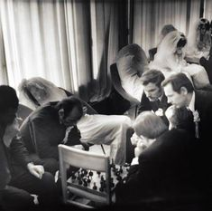 Queue at the marriage registration office. USSR, Tallinn, 1973