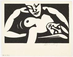 Couple making love [print] Créateur: Robert Gibbings ( Artist ) Date de Création: 1918