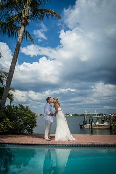 Christie-Tim Bradenton Beach #wedding in Tortuga Inn Beach Resort