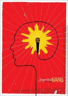 Sugarhill Gang gig poster.
