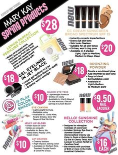 Look What's New in Mary Kay for Spring 2014