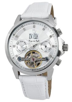 Hugo von Eyck Cassiopeia Unisex automatic watch HE105-186 >>> Click image to review more details.